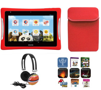 "Nabi DreamTab 8"" with App Pack, Neoprene Sleeve& Headphones - E289612"