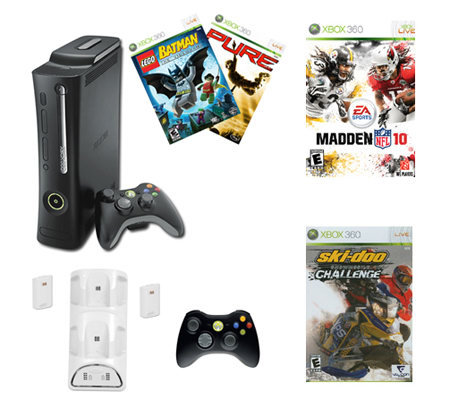 Xbox 360 Elite Madden Holiday Bundle