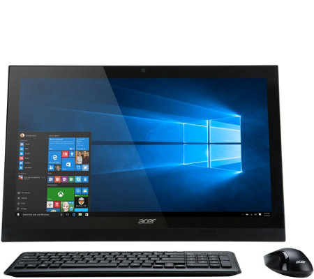 "Acer 22"" Touch All-in-One PC Intel Core i3 8GB RAM 1TB HDD"
