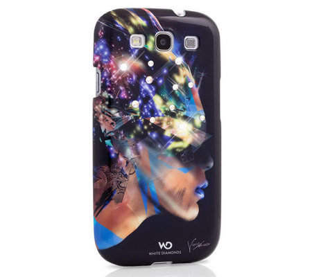 White Diamonds Nafrotiti Samsung Galaxy S3Case