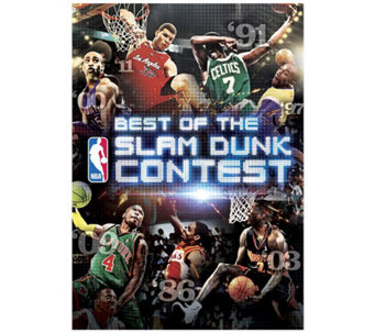 Best of the NBA Slam Dunk Contest DVD - E263813