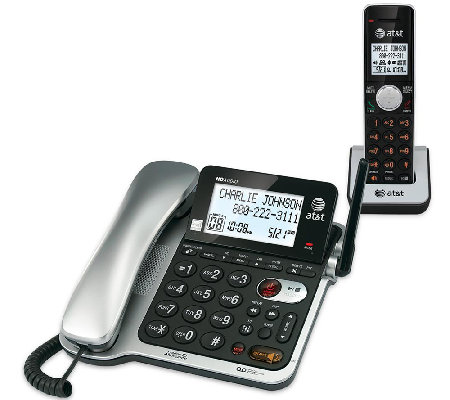 AT&T Corded/Cordless Answering System w/ Call Wait Caller ID