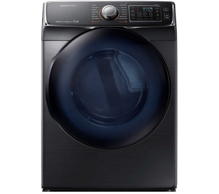 Samsung  7.5 Cu. Ft. Front Load Electric DryerBlack Stainless