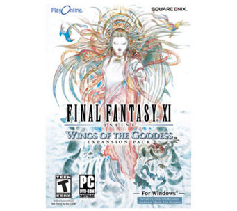 Final Fantasy XI: Wings of the Goddess Expansion Pk - Windows - E189214