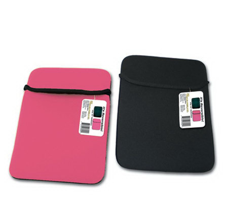 Reversible Neoprene Netbook Sleeve with Easy Flip-Top Opening