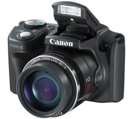 Canon PowerShot SX500 16MP, 30x Optical ZoomDigital Camera