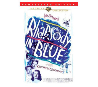 Rhapsody in Blue (1945) - DVD - E271314