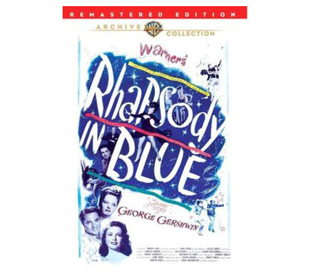 Rhapsody in Blue (1945) - DVD
