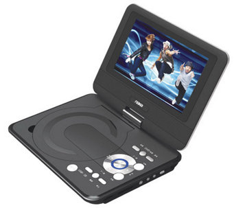 "Naxa 9"" TFT LCD Swivel Screen Portable DVD Player - E272314"