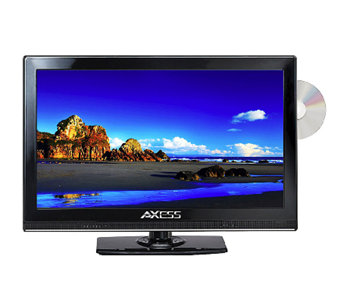 "Axess 15"" Class LED TV with Built-In DVD Player - E277814"