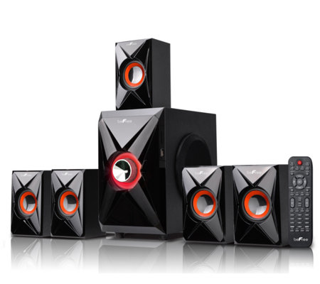 beFree BFS-420 5.1 Surround Sound Bluetooth Speaker System