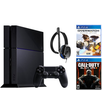 Sony PS4 500GB Call of Duty Bundle with Overwatch - E289614