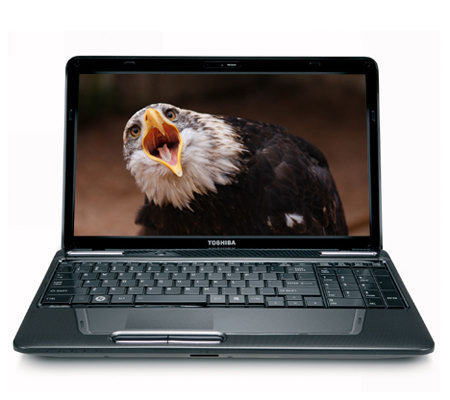 "Toshiba 15.6"" Notebook 4GB RAM, 500GB HD, Corei5 & Windows 7"