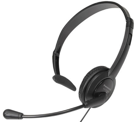 Panasonic Lightweight Microphone Headset for Telephones