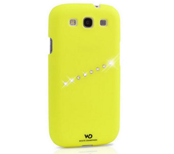 White Diamonds Neon Sash Samsung Galaxy S3 Case - E263415