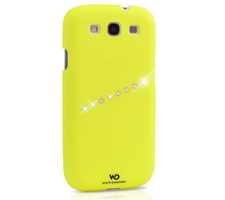 White Diamonds Neon Sash Samsung Galaxy S3 Case