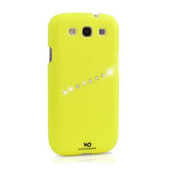 White Diamonds Neon Sash Samsung Galaxy S3 Case