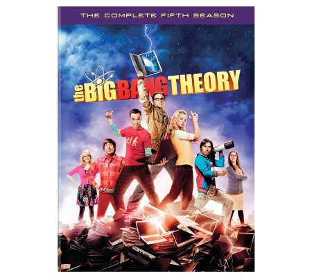 The Big Bang Theory Season 5 Three-Disc Set DVD
