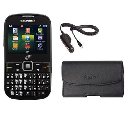 Samsung S380 TracFone Camera Phone, 600 Minutes, Accessories