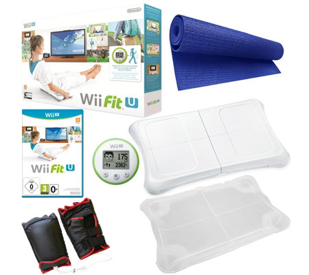 Wii Fit U Boxing Bundle with Accessories