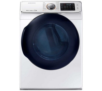 Samsung 7.5 Cu. Ft. Front Load Electric Dryer w/ Steam- White - E288615
