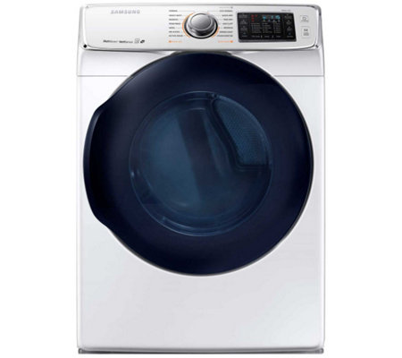 Samsung 7.5 Cu. Ft. Front Load Electric Dryer w/ Steam- White