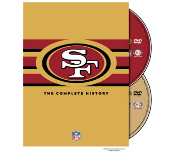NFL History of the San Francisco 49ers 2-Disc DVD Set - E290415