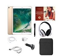 "Apple iPad Pro 10.5"" 64GB Wi-Fi Tablet with Software & Accessories - E231916"
