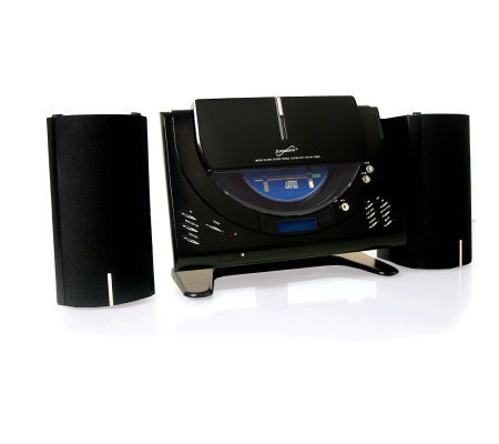 SuperSonic Micro CD Player w/MP3, AM/FM Radio,Twin Speakers