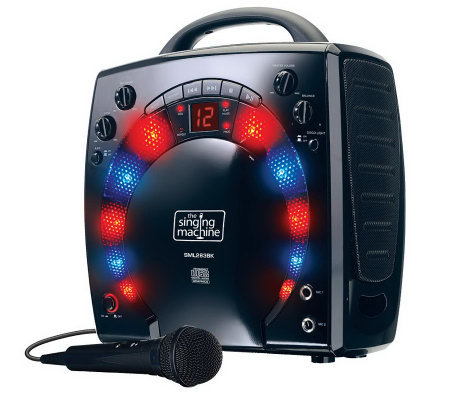 Singing Machine SML283 Portable CD-G Karaoke Player