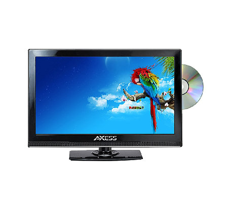"Axess 13"" Class LED HDTV with Built in DVD Player"