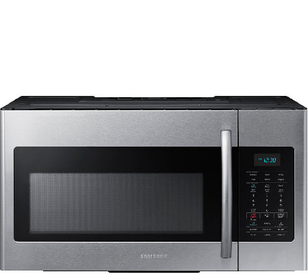 Samsung 1.7 Cu. Ft. Over-the-Range Microwave -Stainless Steel
