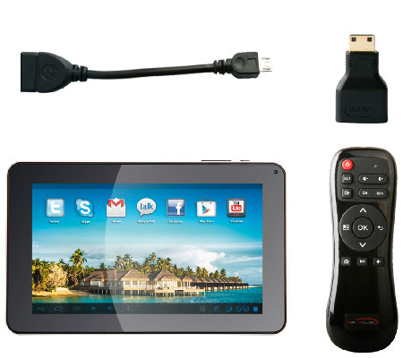 "Envizen 9"" 8GB Tablet with Accessories"