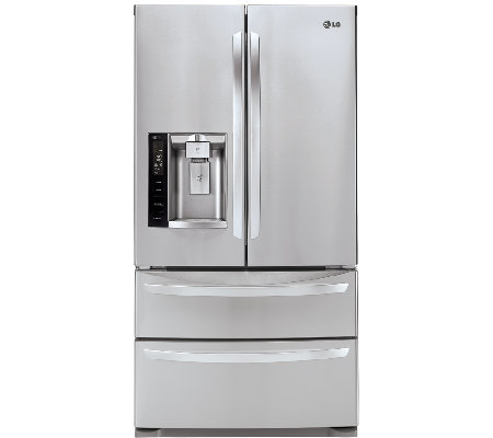 LG 26.8 Cu. Ft. Ultra-Capacity 4-Door French Door Refrigerato