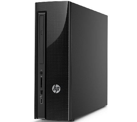 HP Slimline Desktop - AMD, 4GB RAM, 500GB HDD with Software