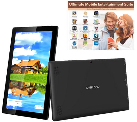 "Digiland 11.6"" 16GB Android Tablet with Softwar e"