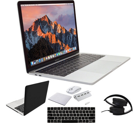 "Apple MacBook Pro 13"" Retina Touch Bar 256GB &More - Silver"