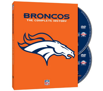 The Complete History of the Denver Broncos DVDSet - E287617