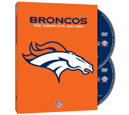 The Complete History of the Denver Broncos DVDSet