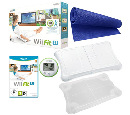 Wii Fit U Yoga Bundle with Accessories