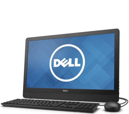 "Dell 23.8"" All-in-One - Intel, 4GB, 500GB, Keyboard & Mouse"