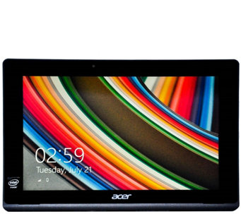 Acer Switch 10.1 Touch 2-in-1 Laptop - Intel Atom, 2GB, 500GB - E289317