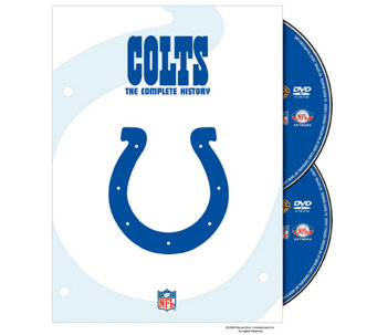 NFL History of the Indianapolis Colts 2-Disc DVD Set - E290417