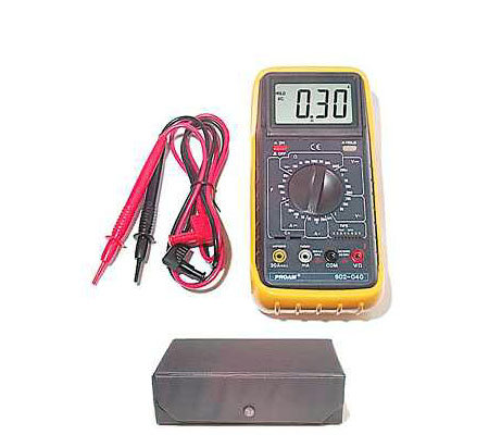Digital Multimeter and Transistor Tester