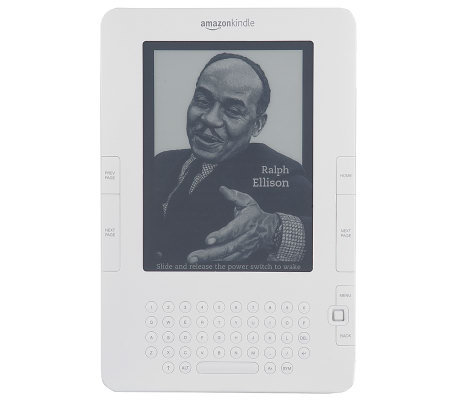 "Kindle 6"" Diag. eReader with 3G Wireless, Case, LED clip light"