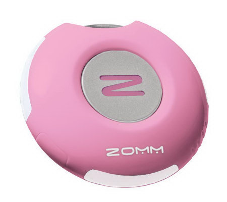 ZOMM Wireless Bluetooth Speaker and Keychain for Cell Phone