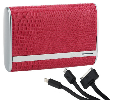HALO 7800 mAh Portable Charger for Cell Phones & Tablets