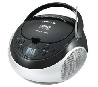 Naxa Portable MP3/CD Player with AM/FM Stereo Radio - E272318