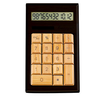 Impecca Bamboo Calculator