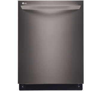 LG Fully Integrated Dishwasher with Height-Adjustable 3rd Rac - E288718